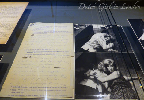 original screenplay of L'Eclisse (Eclipse) with handwritten corrections by Michelangelo Antonioni