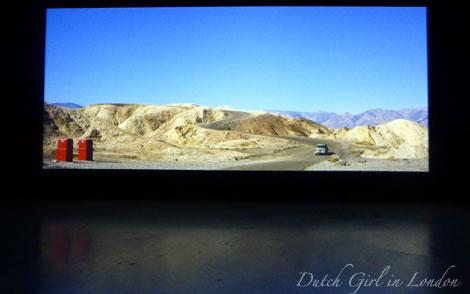 Still from Zabriskie Point by Michelangelo Antonioni at EYE film exhibition