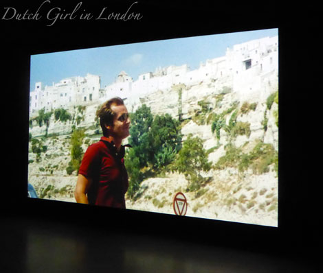 Still from Professione: Reporter (The Passenger) with Jack Nicholson by Michelangelo Antonioni at EYE film exhibitio