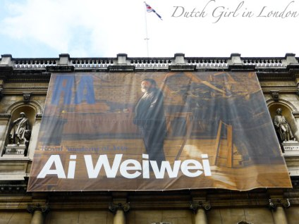 Ai Weiwei exhibition at the Royal Academy of Arts London