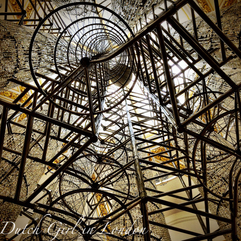 Bicycle Chandelier (2015) by Ai Weiwei at Royal Academy