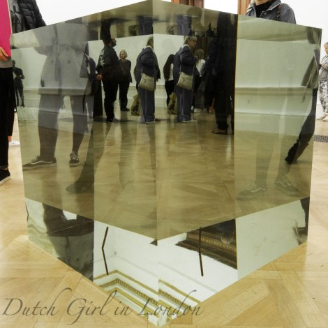 box-crystal cube-Ai-Weiwei-Royal-Academy-London