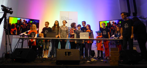 group-photo-kids-hackaton-umea-music-tech-fest