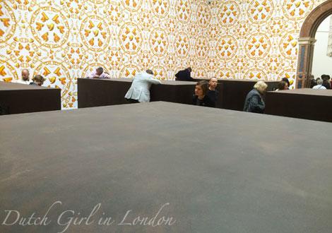 S.A.C.R.E.D. (2012) diorama by Ai Weiwei at the Royal Academy