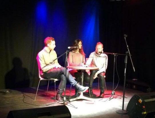 panel discussion Belfast Arts Festival Robin Rimbaud Joel Cadbury Dutch Girl in London