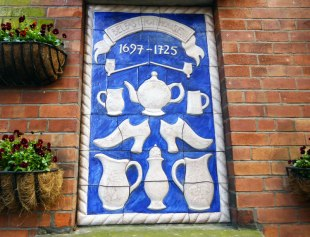 Tile in the wall for Belfast Pothouse