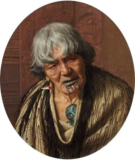charles frederick goldie maori chieftaness