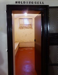 Holding cell in Crumlin Road Gaol