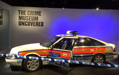 Entrance Crime Museum Uncovered