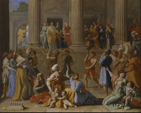 The-Triumph-of-David-Nicholas-Poussin