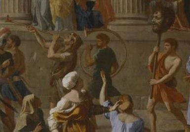 the-triumph-of-david-Nicolas-Poussin