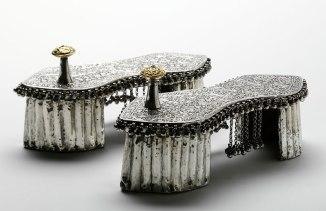 Wedding toe-knob paduka (India, 1800s)