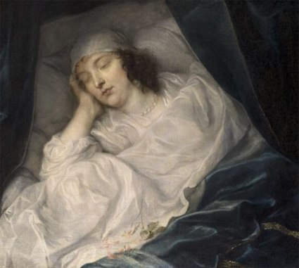 Venetia,-Lady-Digby,-on-her-Deathbed-Sir-Anthony-van-Dyck