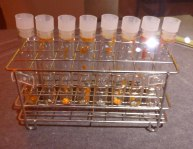 Tubes of DNA
