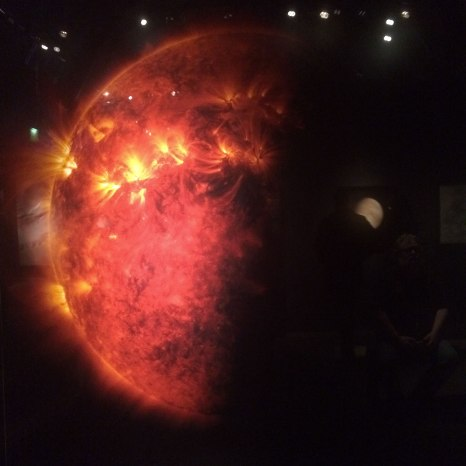 Otherworlds exhibition at the Natural History Museum