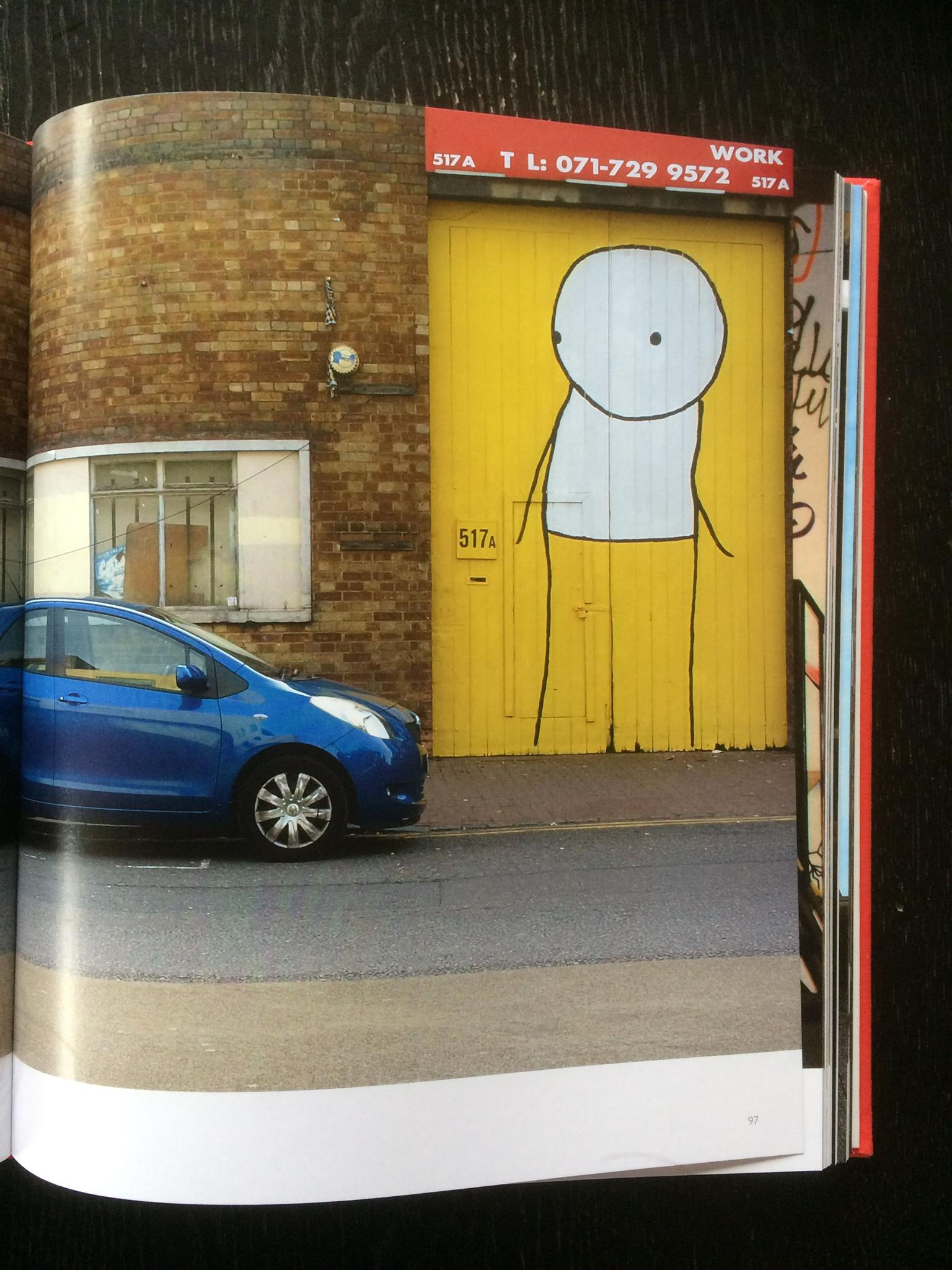 Stik street art book – Dutch Girl in London