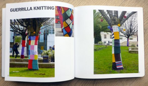 Guerrilla Knitting in 'New Street Art'