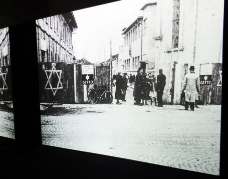 Original photo of WWII ghetto area from Kubrick's archive