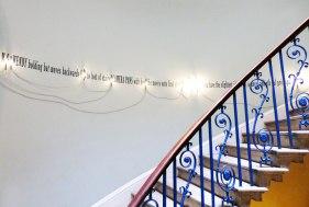 Joseph Kosuth - '(A Grammatical Remark #9)'