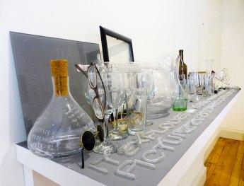 Seamus Farrell - 'Tempest in (a) glass a diaphanous arrangement'