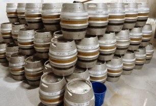 Truman beer kegs