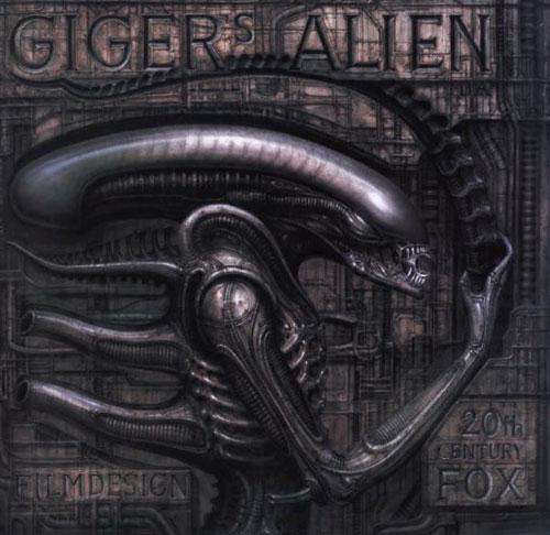 H.R. Giger alien design