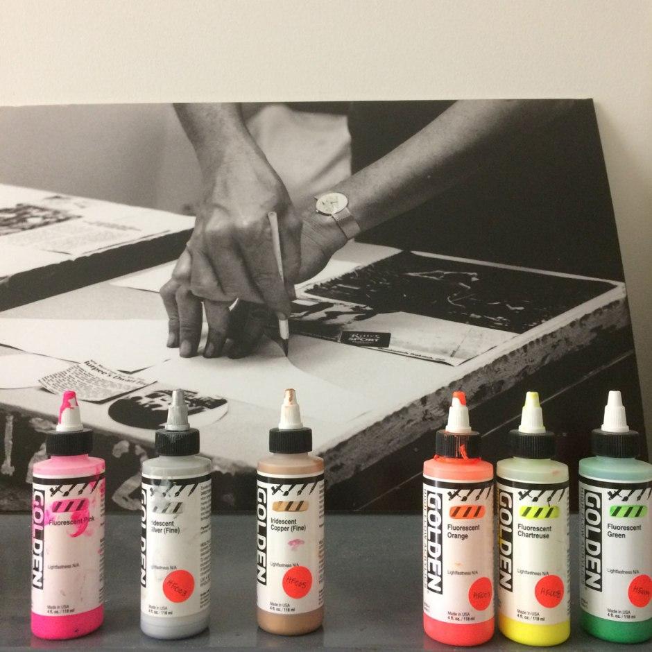 Rauschenberg-paints