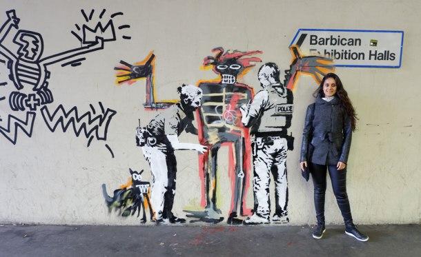 Banksy_Basquiat_London_Barbican