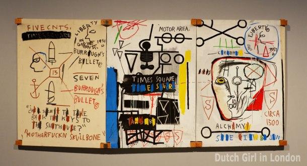Basquiat exhibition Barbican London