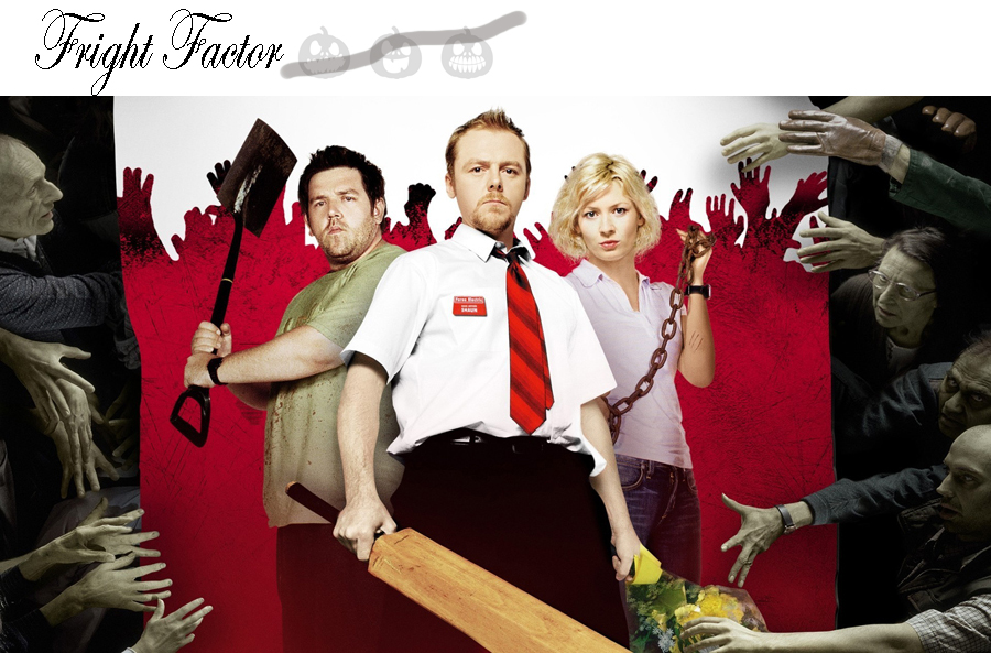 Shaun of the dead simon pegg edgar wright zombie movie halloween