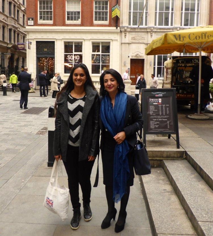 Together with Dutch Speaker Khadija Arib in London