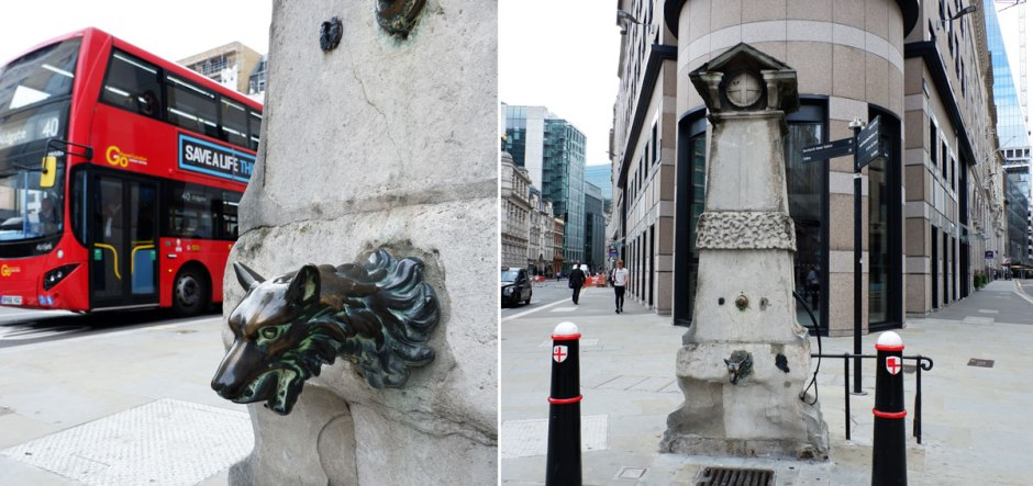 Historical London walk along London landmarks