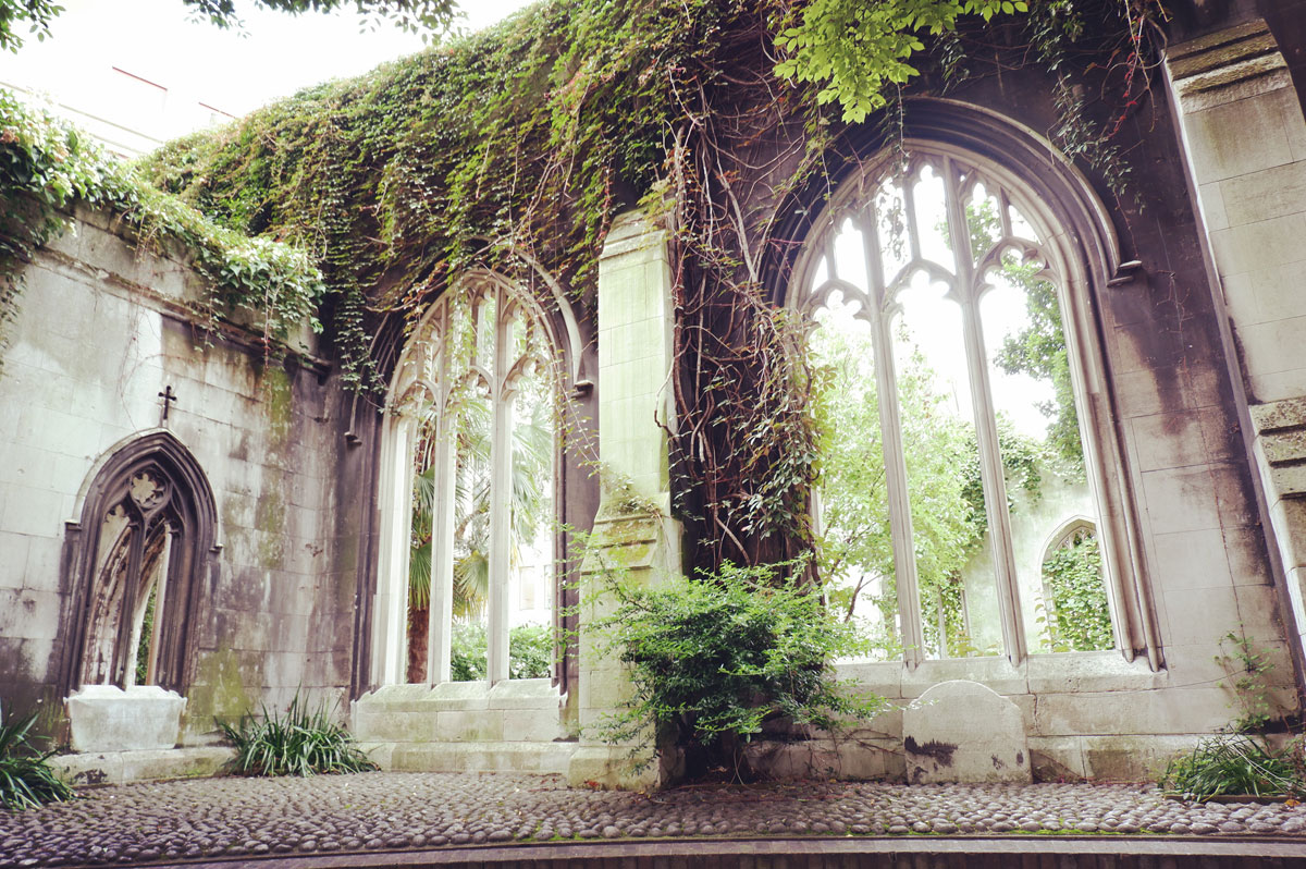 St Dunstan in the East church London history
