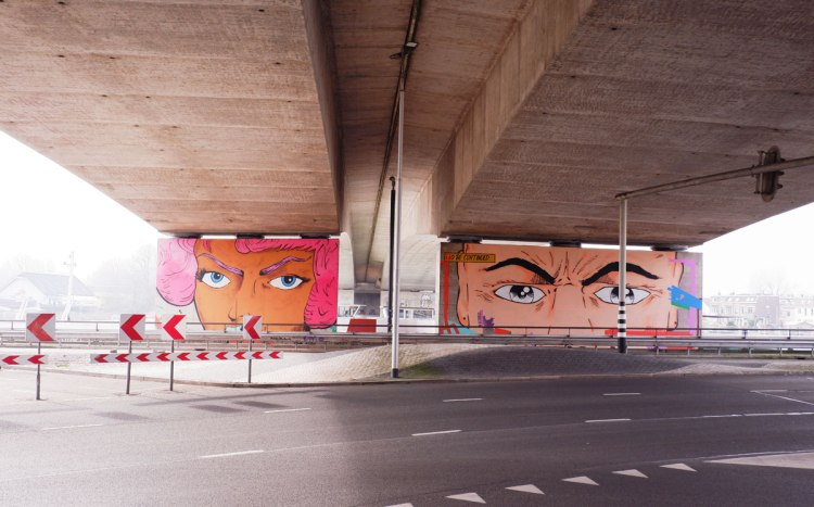 street art in Arnhem