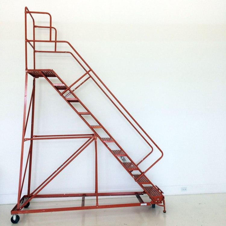 Eric-Mack-interview-Dutch-Girl-in-London-ladder