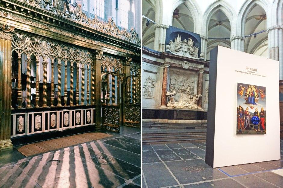 Jeff Koons in de Nieuwe Kerk Amsterdam