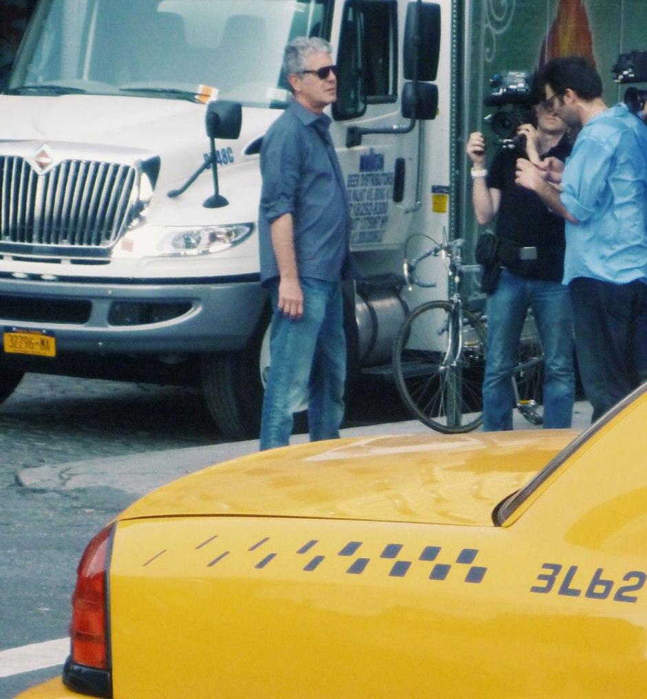 When I saw Anthony Bourdain in NYC // Dutch Girl in London