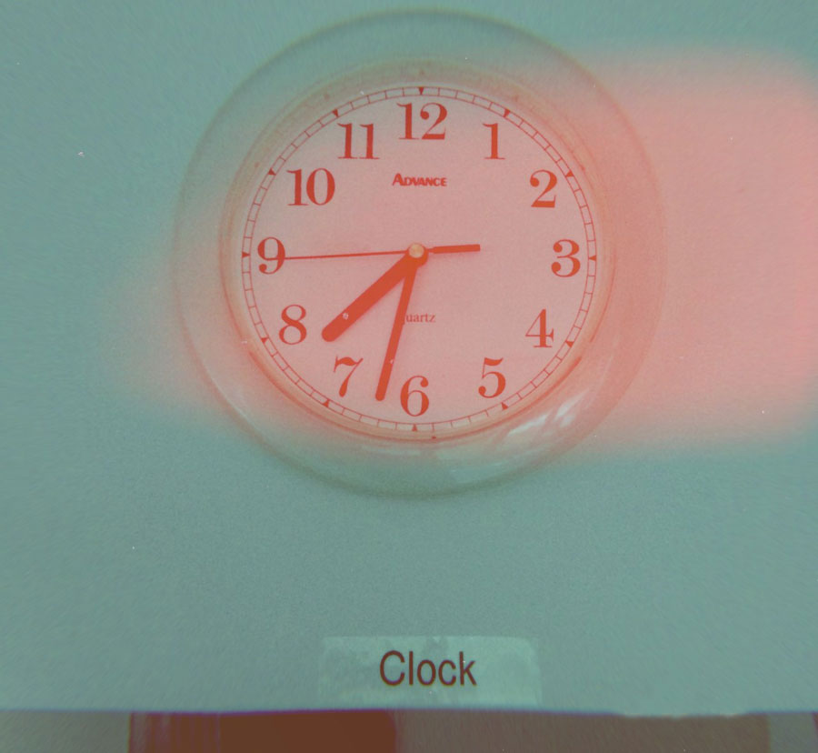 The Clock by Christian Marclay //Dutch Girl in London