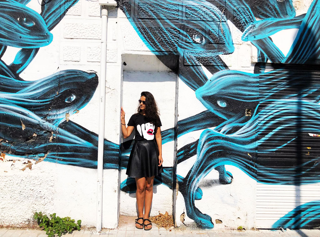 Pantonio street art Barcelona // Dutch Girl in London