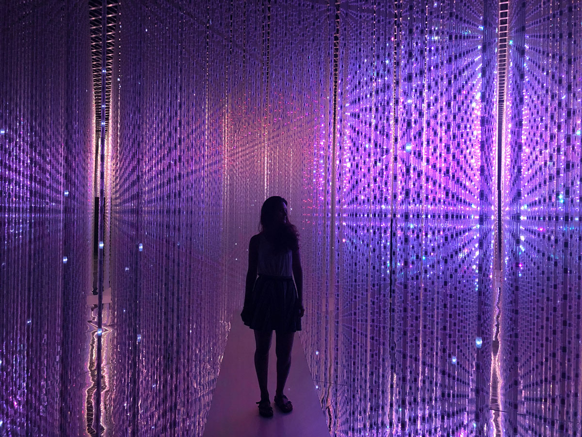 Future World exhibition at ArtScience Museum Singapore