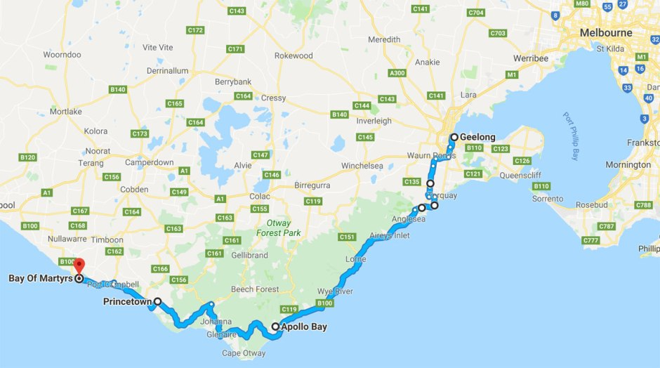 Great-Ocean-Road-route