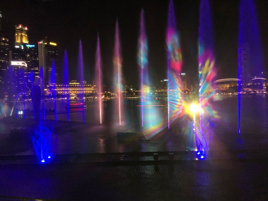 Spectra at Marina Bay Sands Singapore