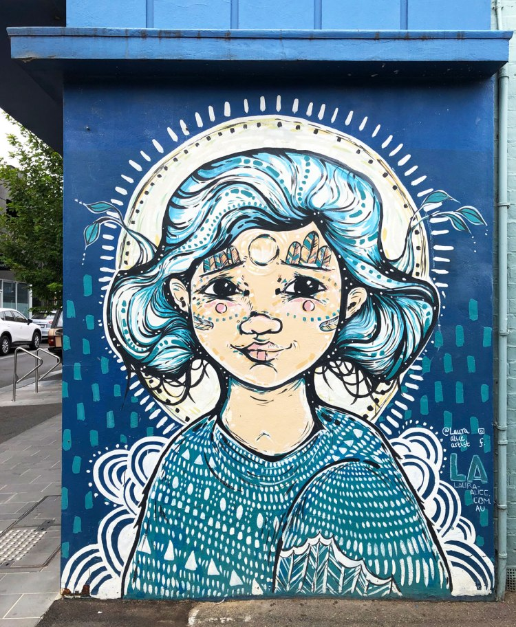 street art in Geelong, Australia