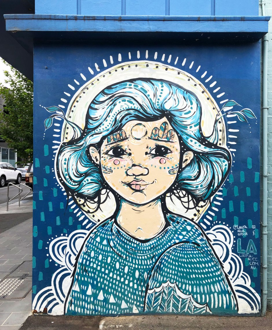 street art in Geelong, Australia