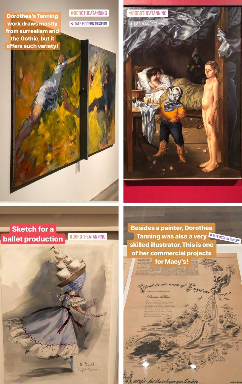 Dorothea Tanning Tate Modern // Dutch Girl in London
