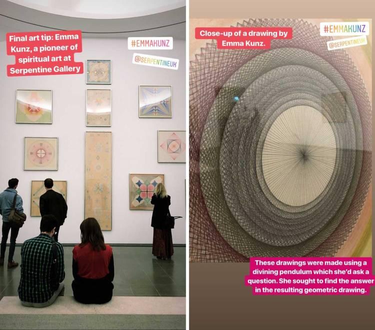 Emma Kunz Serpentine Gallery // Dutch Girl in London