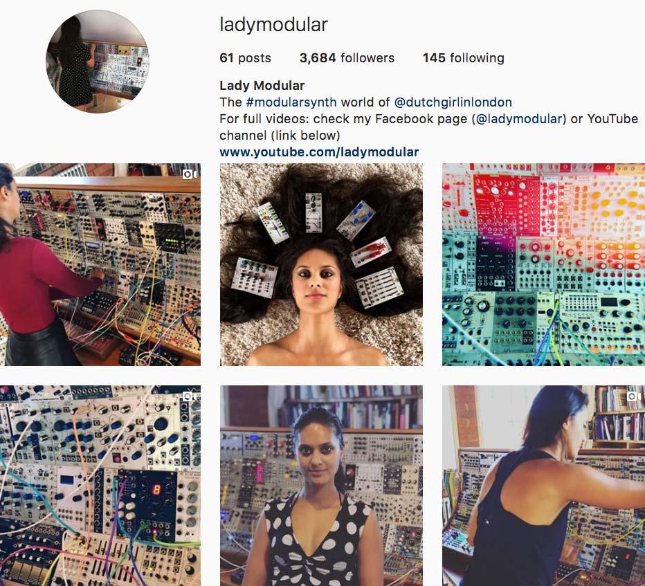 Lady Modular op Instagram // Dutch Girl in London
