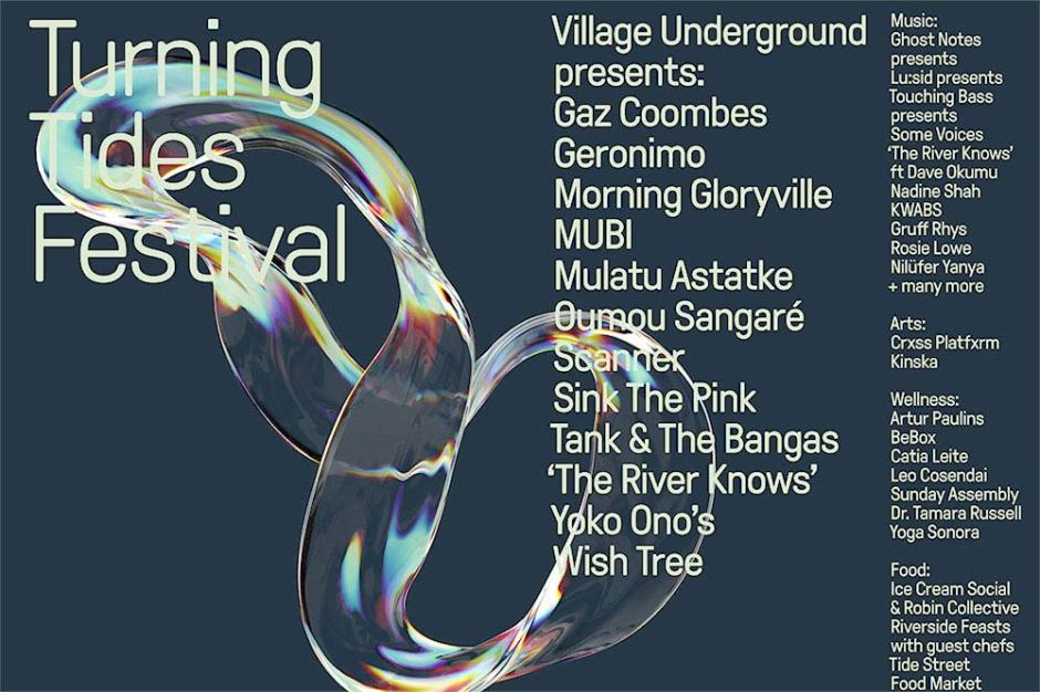 Turning Tides Festival Lineup July 2019