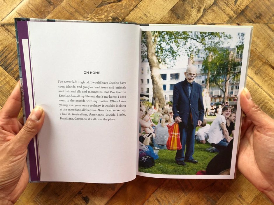 east London photo book