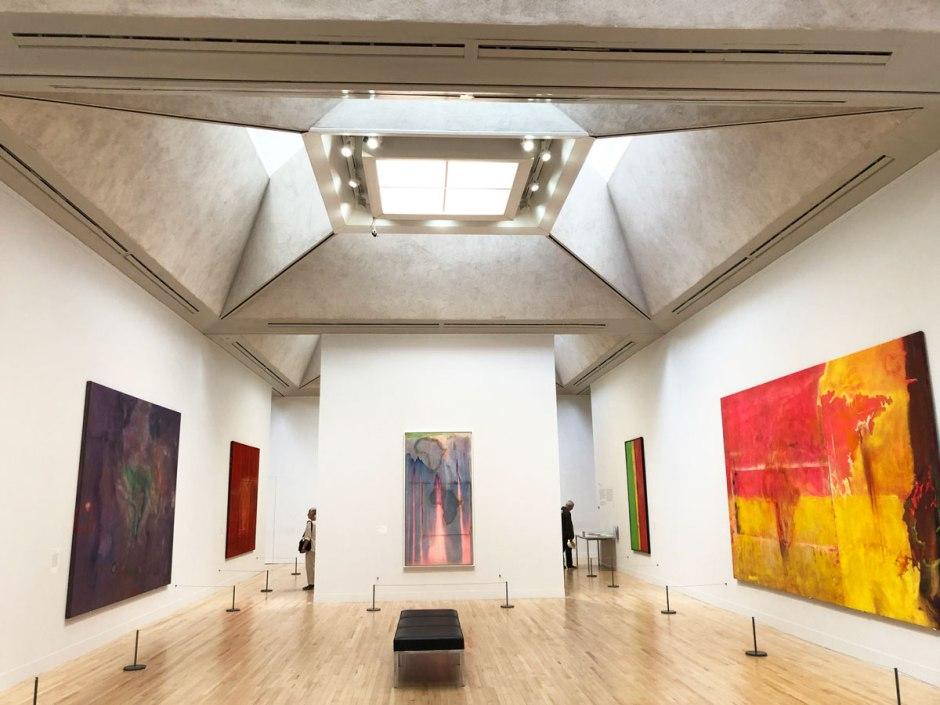 Frank Bowling exhibition at Tate Britain